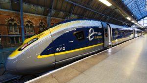 Viaja en tren por Francia, Reino Unido y Bélgica con el tren Eurostar 4