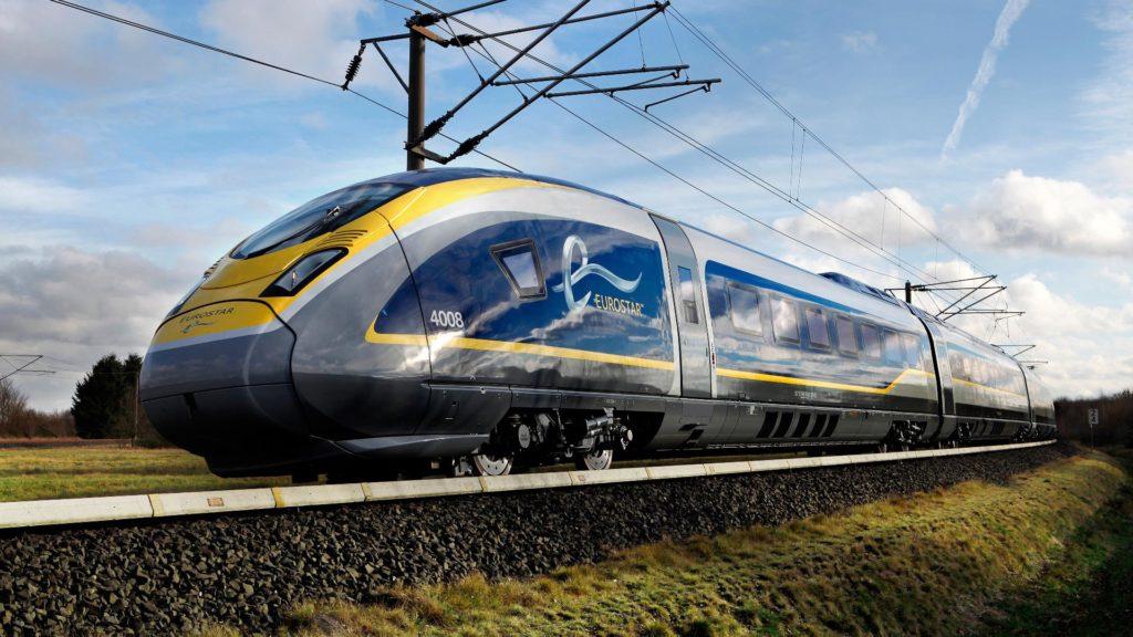 Viaja en tren por Francia, Reino Unido y Bélgica con el tren Eurostar 2