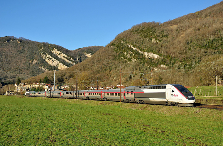 Conexión directa entre Francia y Suiza con los trenes Lyria 2