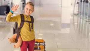¿Cómo viaja un menor sin acompañamiento en tren?