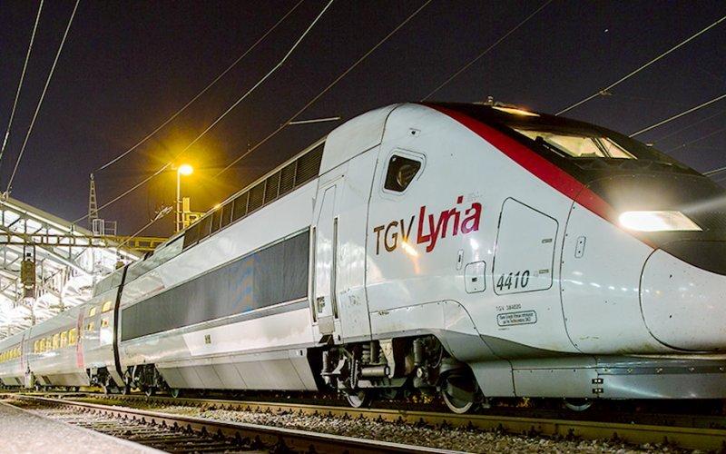 Conexión directa entre Francia y Suiza con los trenes Lyria 3