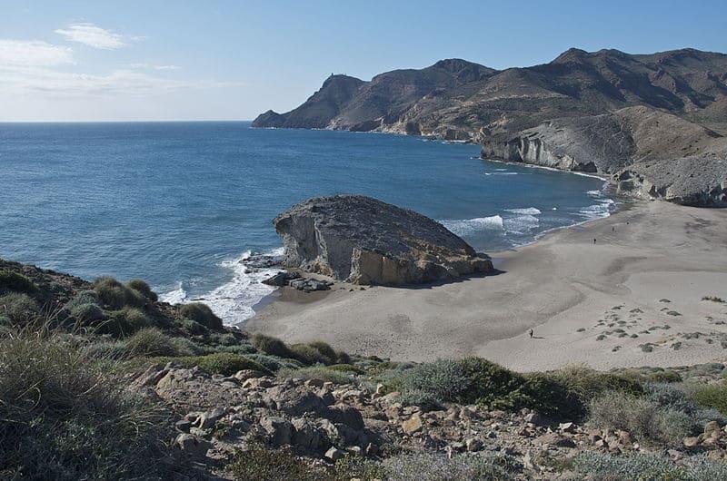Playa de Mónsul - Almería