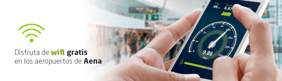 Como conectarse gratis al Wifi en los principales aeropuertos de España 2