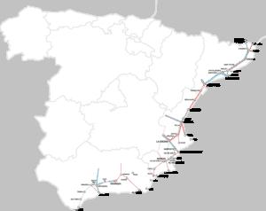Trenes del corredor Mediterráneo. Estado de las obras y beneficios