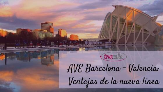 AVE Barcelona - Valencia