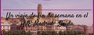 AVE Madrid - Lleida