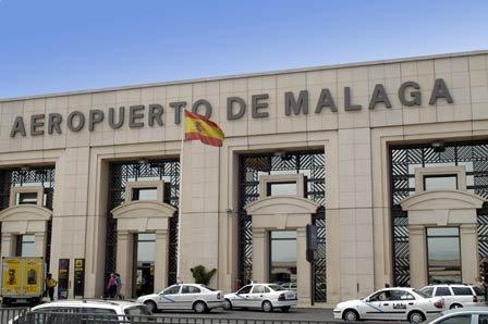 como llegar al aeropuerto de Málaga