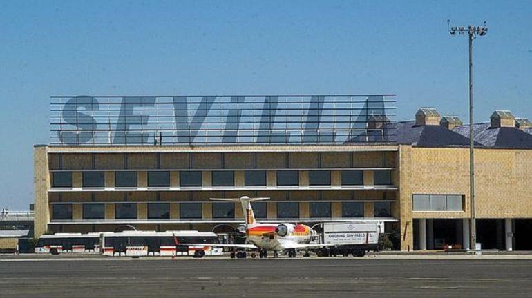 Aeropuerto de Sevilla San Pablo. 1