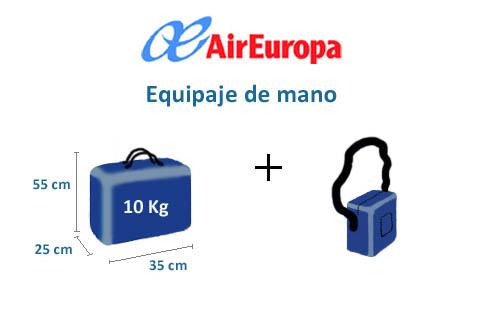Tamaños de maleta de cabina que podemos transportar según aerolínea 14