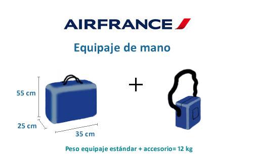 Tamaños de maleta de cabina que podemos transportar según aerolínea 8