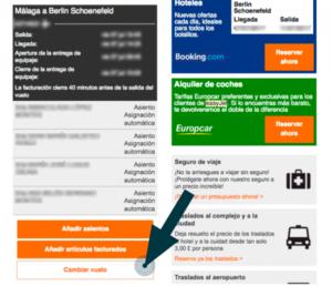 Cómo modificar el nombre y vender tu billete de vuelo con Easyjet 3