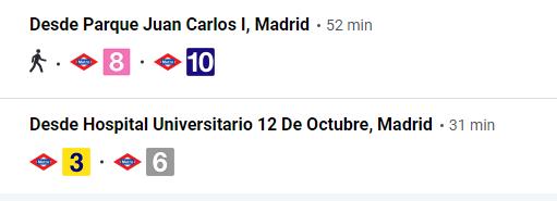Estación autobuses en Madrid Príncipe Pío 5