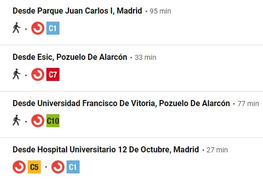 Estación autobuses en Madrid Príncipe Pío 6