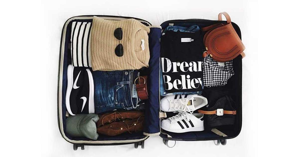 Trucos para preparar la maleta perfecta en tu viaje en tren 3