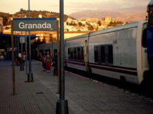 Estación de tren Granada - Andaluces. Como llegar, teléfonos y servicios 6
