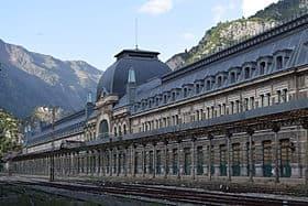 Estacion de tren de Canfranc Huesca