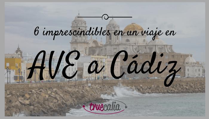 AVE a Cádiz