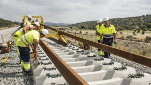 Líneas de AVE en construcción