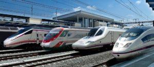 Líneas de trenes AVE con competencia privada en 2020