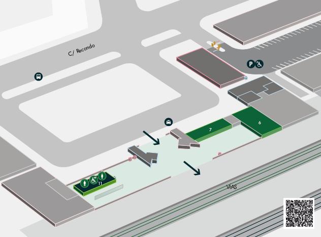 Estación de tren Valladolid Campo Grande. Como llegar, teléfonos y servicios 9