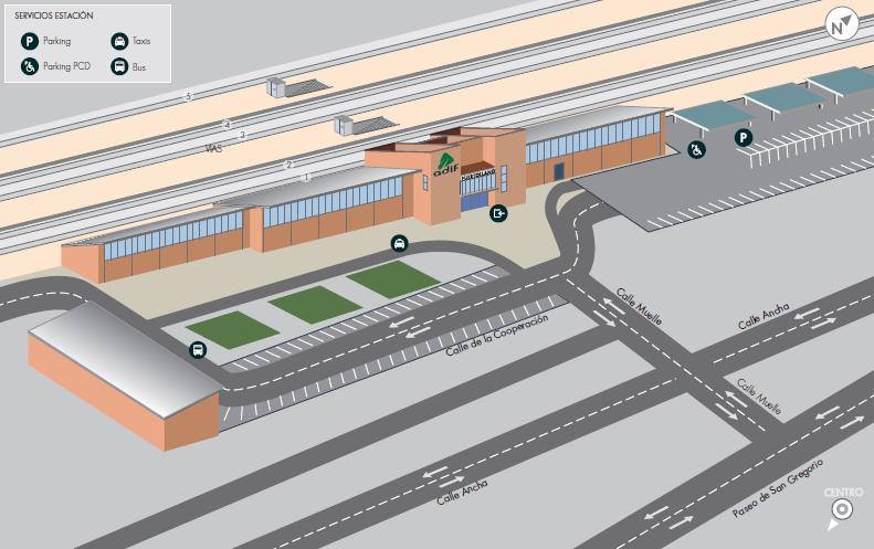 Estación de tren Puertollano. Como llegar, teléfonos y servicios 6