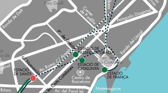 dónde está Barcelona Sants