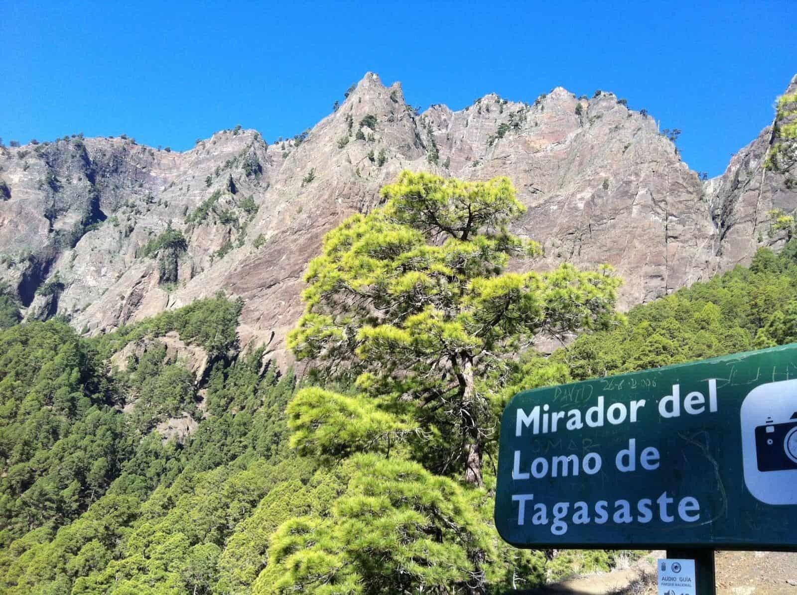 Visitar el Parque Nacional de la Caldera de Taburiente. 4