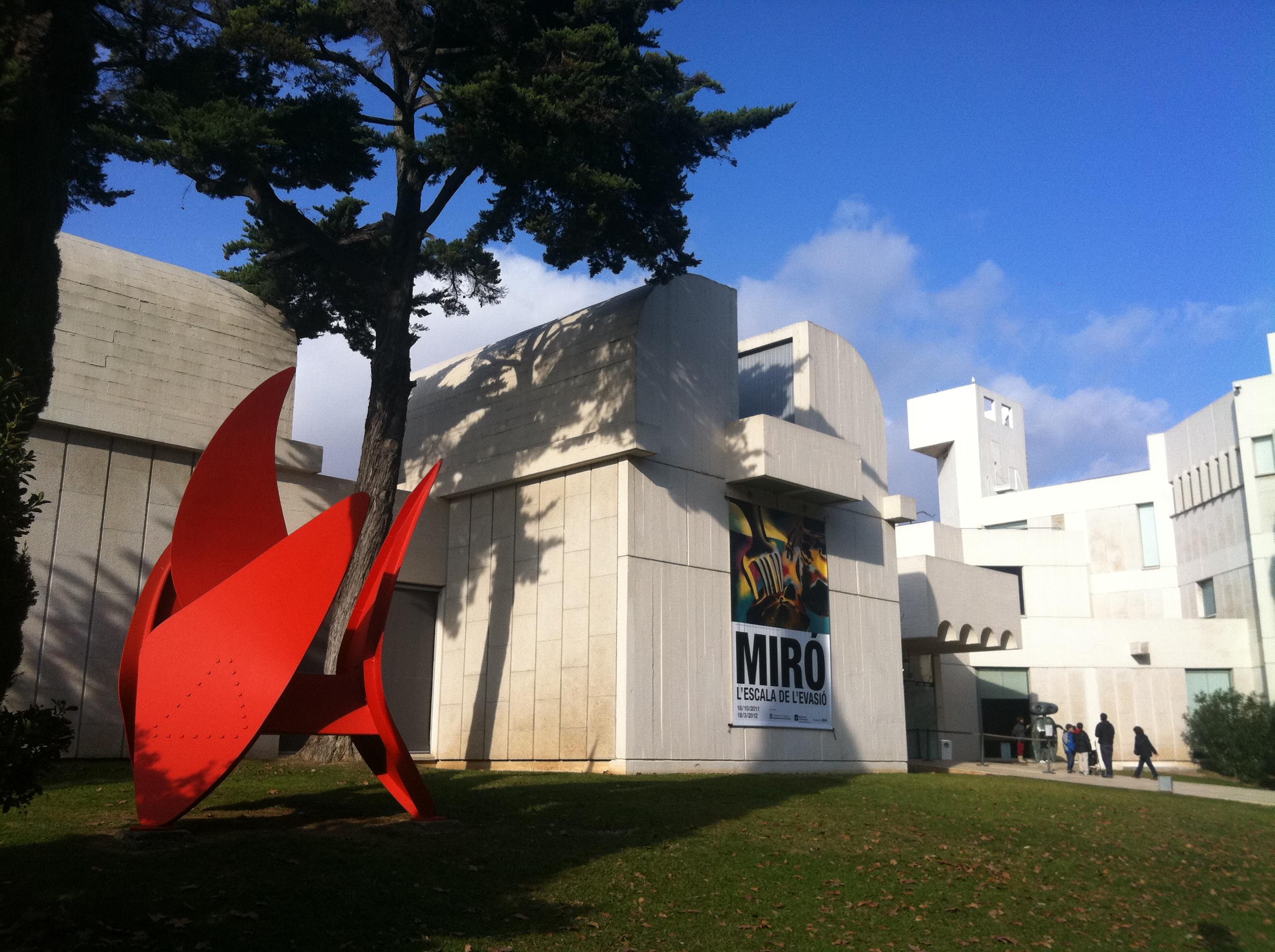 Principales museos de España - Fundación Joan Miró