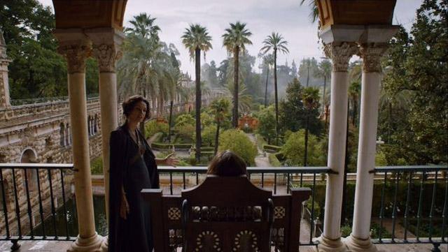 Dorne de Juego de Tronos en el Alcázar de Sevilla