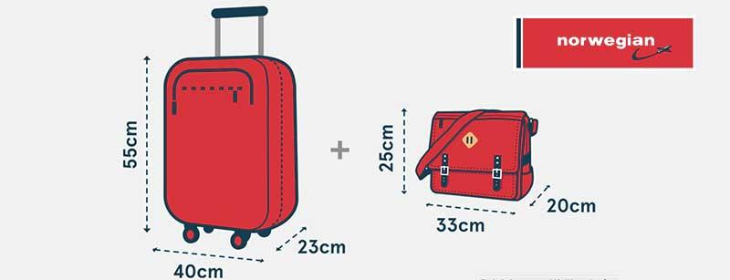 Tamaños de maleta de cabina que podemos transportar según aerolínea 5