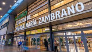 Estación de tren y AVE Málaga María Zambrano. Como llegar, teléfonos y servicios 1