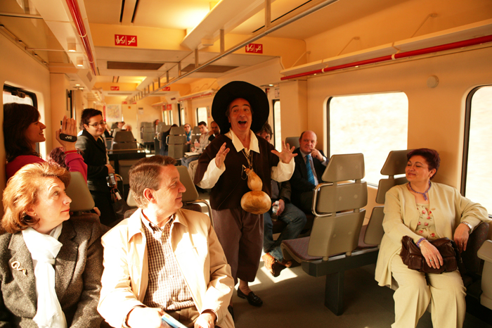 Trenes turísticos, recorre España en un tren de época. 1