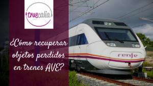 ¿Cómo recuperar objetos extraviados en los trenes AVE? Teléfonos de Objetos perdidos