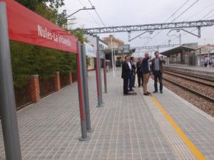 Trenes del corredor Mediterráneo. Estado de las obras y beneficios 2