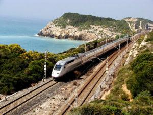 Trenes del corredor Mediterráneo y sus enormes beneficios en el comercio y la mensajería urgente.