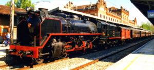 Trenes turísticos, recorre España en un tren de época.