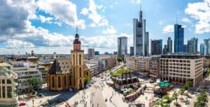 Viajar a Frankfurt