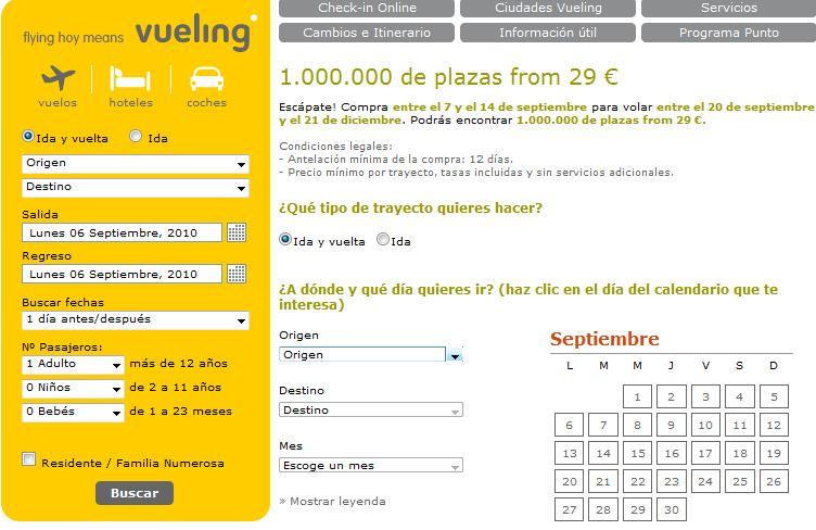 Cómo modificar el nombre y vender tu vuelo con Vueling Airlines. 2