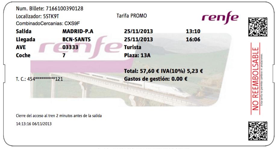 Cómo funcionan los cambios y anulaciones de billetes tren y AVE en Renfe. Códigos retorno 7