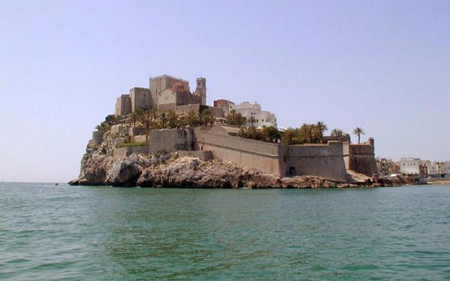 Castillo de Peñíscola en Juego de Tronos