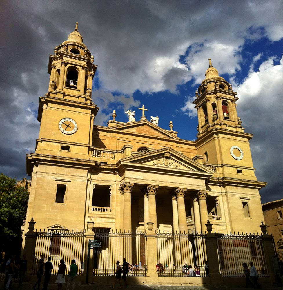 catedral de santa maria la real de pamplona