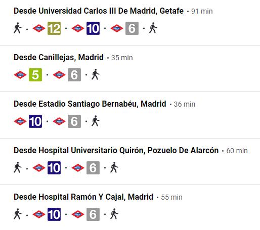Estación autobuses en Madrid Méndez Álvaro 5