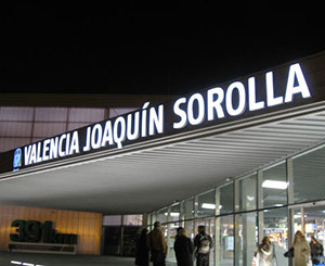 estación de Valencia Joaquín Sorolla