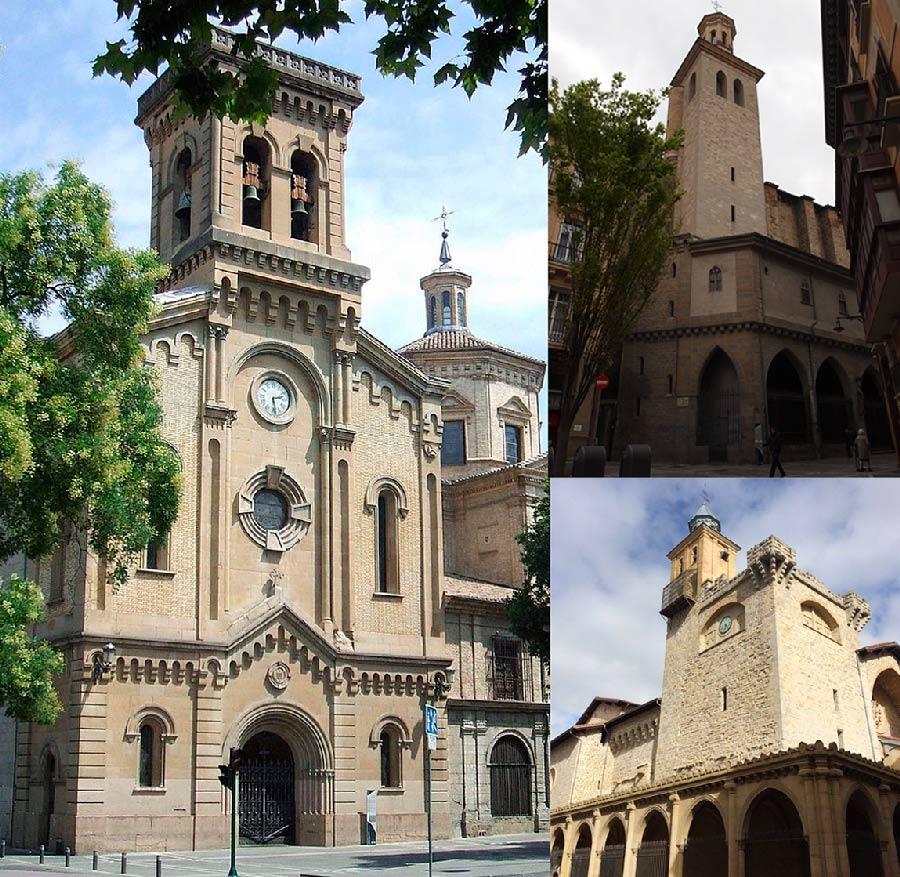 iglesias de pamplona san saturnino san nicolas y san lorenzo
