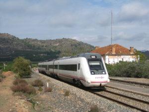 Mejoras del tren de Zaragoza a Valencia 3