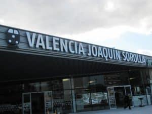 Estación Valencia Joaquín Sorolla Alta Velocidad