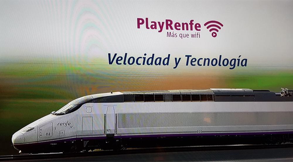 Como conectarse gratis al WiFi en el AVE y en estaciones Renfe Cercanías 1