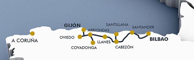 Costa Verde Express, el tren de lujo para el Cantábrico 5