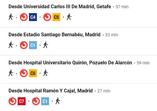 Estación autobuses en Madrid Méndez Álvaro 4