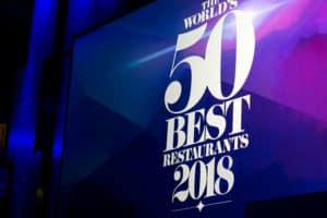 La última lista de los mejores restaurantes del mundo
